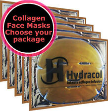 Crystal Gold Collagen Face Masks, Dry,Wrinkles, Anti Age Serum,Home Facial