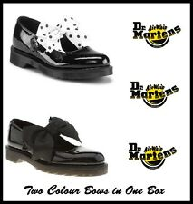 New Dr Martens Mariel Black Patent Leather Girl Shoes for School (14097001)
