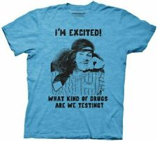 Adult Workaholics Blake I'm Excited What Drugs Are We Testing Turquoise T-Shirt