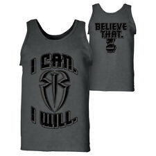 "WWE ROMAN REIGNS ""I CAN I WILL"" OFFICIAL TANK TOP SHIRT NEW (ALL SIZES)"