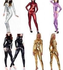 METALLIC Body Suit Lycra Second Skin Spandex Catsuit Bodysuit Zentai Costume