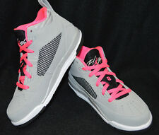 Jordan Flight 9.5 GP Grey/Black/Pink Girl's Shoes - Assorted Sizes