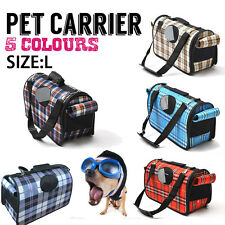 Large Size- Pet Puppy Cat Travel Carry Carrier Case Bag Cage For Dogs Animals AU