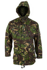NEW Smock Combat Windproof  Woodland DPM Hooded Wind Proof Jacket M L XL