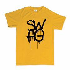 Swag Dope Graffiti Hip Hipster Baggy Loose T shirt