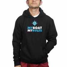 My Boat My Rules Sailing Fishing Sweatshirt Hoodie