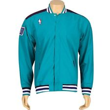 Mitchell And Ness Charlotte Hornets NBA Authentic Warm Up Jacket (teal) 6056A-3C