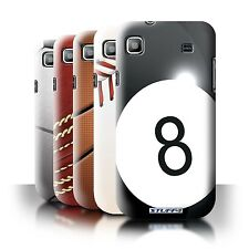 STUFF4 Back Case/Cover/Skin for Samsung Galaxy S/I9000/Sports Balls