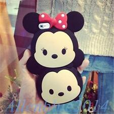 New 3D Cute Soft Silicone Rubber Mobile Case Cover For iPhone 4 5 6 Samsung S3 4