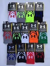 Under Armour UA Undeniable Youth Boy's Crew Socks 1 Pair YLG Large Shoe Sz 1 - 4