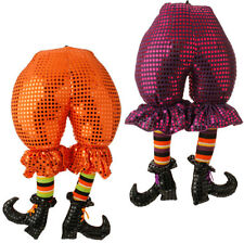 "RAZ Import~20"" Halloween Witch Butt w/Legs~Shoe/Boot~Tree/Wreath/Swag/Door Decor"