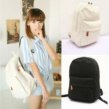 Cute Girls Lace Canvas Backpack Bag Schoolbag Handbag Bookbag Travel Bags