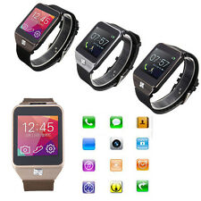 Bluetooth Intelligent Montre Bracelet Sync Pr iPhone 6 5 IOS Android Samsung HTC