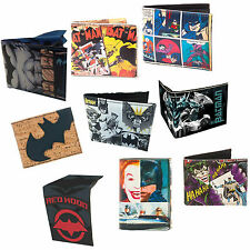 Batman Joker Arkham Knight Dark Knight Bi Fold Wallet - New + Official DC Comics