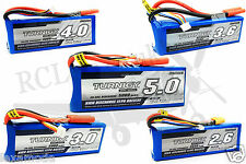 RC Lipo Battery Turnigy 3S 11.1v 20C 2200mah to 5000mah Helicopter Airplane Car