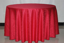 180CM Round New Tablecloth Table Cover for Dining Restaurant Wedding Home Decor