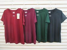 NEW WITH TAGS -WOMEN'S UNDER ARMOUR LOOSE HEATGEAR TEE - ASST COLORS - XXL $21