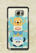 Adventure Time Totem Finn And Jake For Case Cover Samsung galaxy Note 2 3 4 5