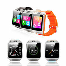 Gv08 Steel Bluthtooth Smart Watch Mobile Phone with Java Spy Camera Touch Screen