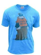 Junk Food Classic Cartoons Popeye Brutus Party Animal Blue Adult T-shirt