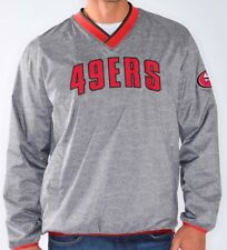"San Francisco 49ers NFL G-III ""Coin Toss"" Wordmark Pullover Embroidered Jacket"