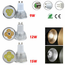 1/10x Dimmable 9W 12W 15W MR16 E27 GU10 Cree LED Spot Light Bulb Bombillas G6
