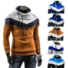 Men Casual Jackets Sweatshirt Size S M L XL Mens Hoody Jacket Coat Hoodies TOP