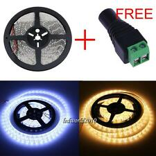 5M/10M/15M 3528 5050 5630 Warm Cool White SMD LED Fairy Strip Xmas Garden Light