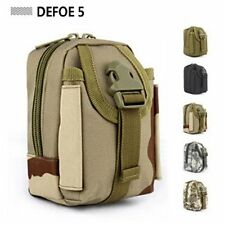 Three camo MOLLE enhance small muddy kit tool utility phone cigarette pouch bag