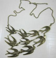 wholesale Occident Punk gothic Retro flight swallow Long chain charms necklace