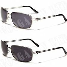 NEW KHAN DESIGNER FASHION Sunglasses UV400 Chrome Aviator K15