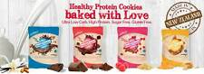 Protein, gluten-free cookies, without added sugar and very low in carbs