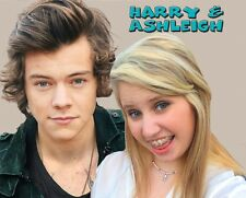Harry Styles of ONE DIRECTION 1D From Your Photo - Custom Photo T-Shirt