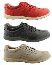 ROCKPORT WALK TOGETHER T-TOE WOMENS LEATHER LACE UP COMFORT WALKING SHOES