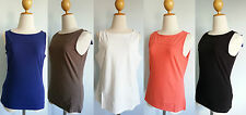 *Patagonia Women Vitaliti Tank Top Stretchy Organic Cotton Crew Neck XS S M XL