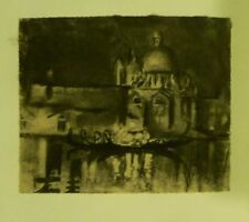 JOSEPH PENNELL The Music Boat  ORIGINAL VINTAGE PHOTOGRAVURE