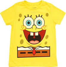 Boy's SpongeBob SquarePants I Am SpongeBob Glow In The Dark Yellow T-Shirt Tee