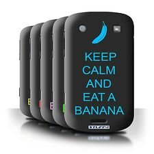 STUFF4 Phone Case/Back Cover for Blackberry Bold 9900 /Keep Calm