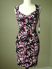 NWT White house black market floral print instantly slimming dress size 6