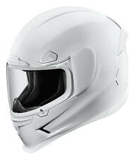 ICON Airframe Pro Full-Face Motorcycle Helmet (Gloss White) Choose Size