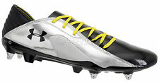 New $190 Under Armour Blur Carbon III Hybrid FG/SG Soccer Cleats - Black