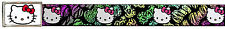 Hello Kitty Animated Character Animal Print Bows Web Belt