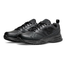 New Balance MX624v4 Mens Black Cushioned Running Sports Shoes Trainers Pumps
