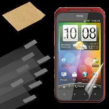 """10x 5x HD Screen Protector Guard Cover Film For HTC 4"""" incredible S s710e G11"""