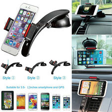 3in1 Universal Windshield Dashboard Air Vent Car Mount Holder For Apple iPhone