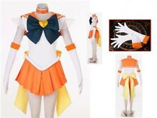 Sailor Moon Sailor Stars Sailor Venus Cosplay Costume NEW
