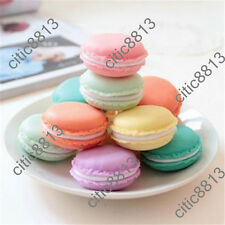1PCs Storage Boxes Cute Mini Macarons Candy Color For Jewelry Earring Box Outing