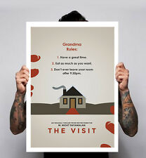 The Visit Horror Movie Film m night shyamalan Minimal Movie Poster Print
