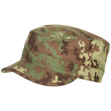 Military BDU Field Hat Tactical Patrol Cap Cotton Ripstop Vegetato Woodland Camo