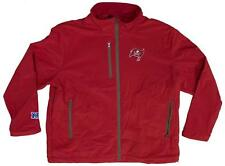 NEW! Tampa Bay Buccaneers Zip Up All Weather Logo Jacket - NFL - Red